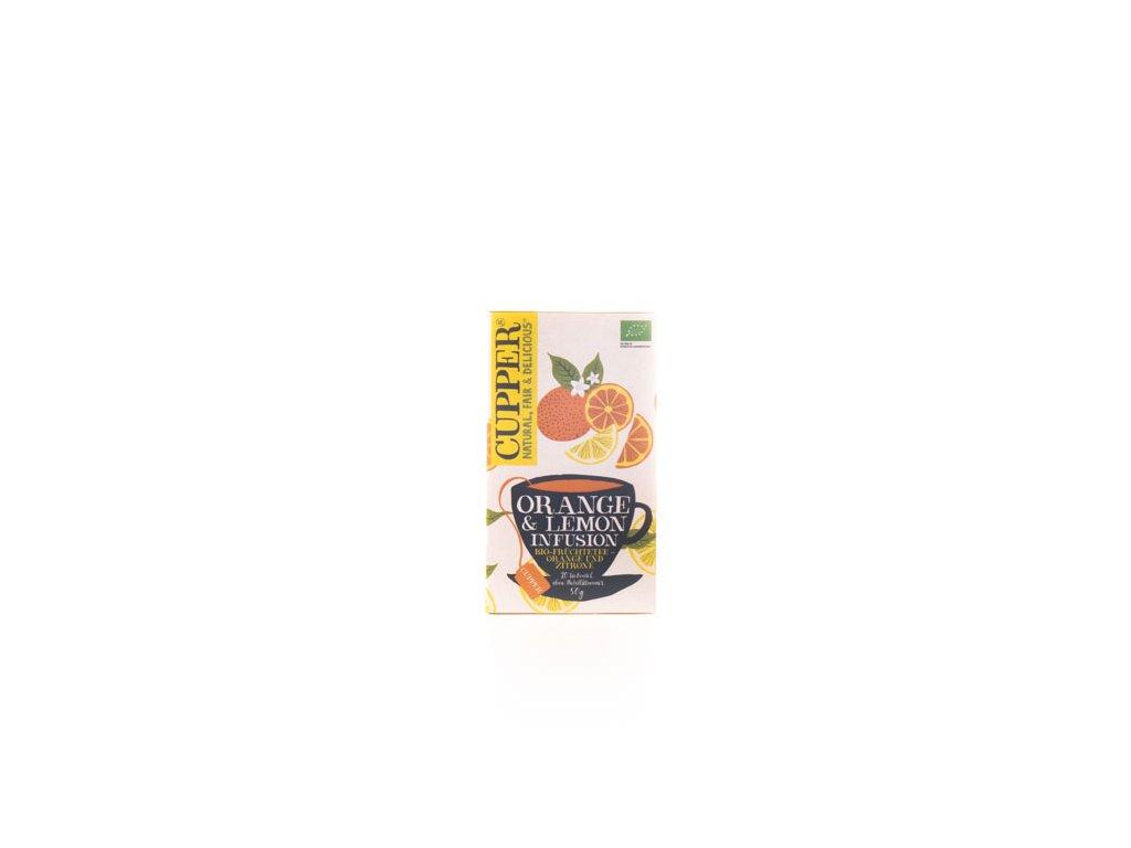 Cupper Bylinný Čaj Pomerančovo-Citronový 50G (20Sáčků) Bio