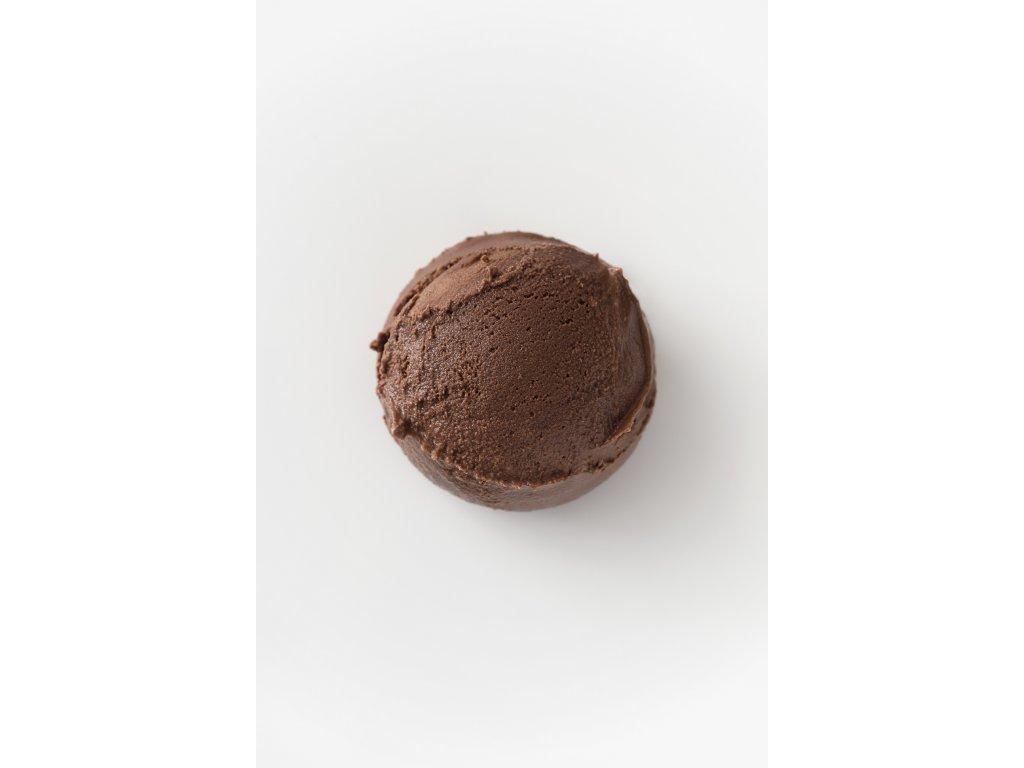 Gelato gusto cioccolato
