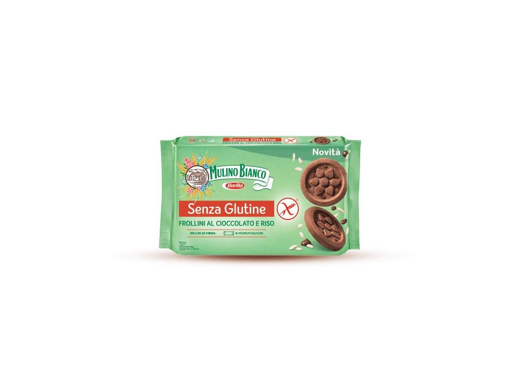 Senza glutine frollini cioccolato