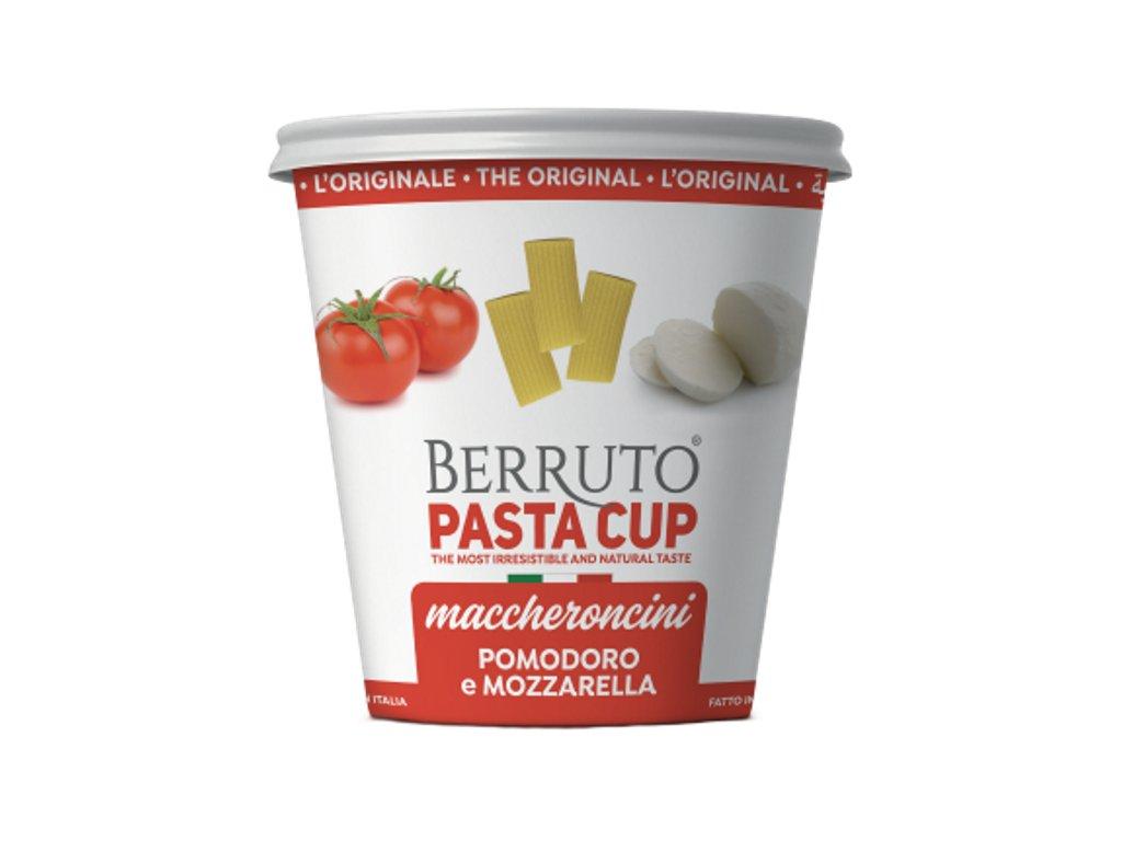 Pasta Cup Maccheroncini pomodoro mozzarella pack