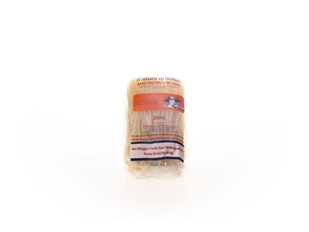 Nudle Rýžové Farmer 3Mm / (M) 400G