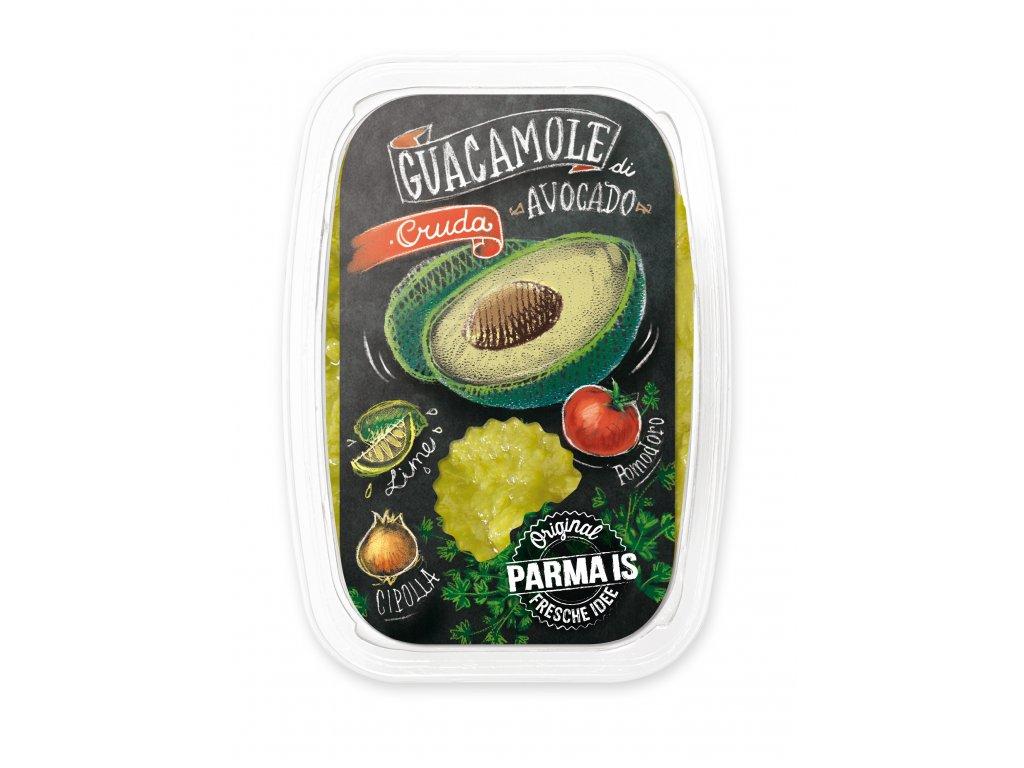 Guacamole fronte etichetta 150