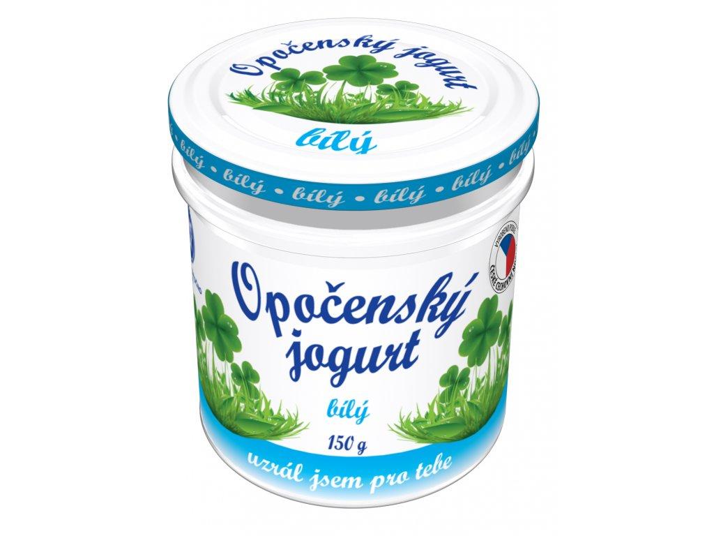 Opočenský jogurt bílý 150g
