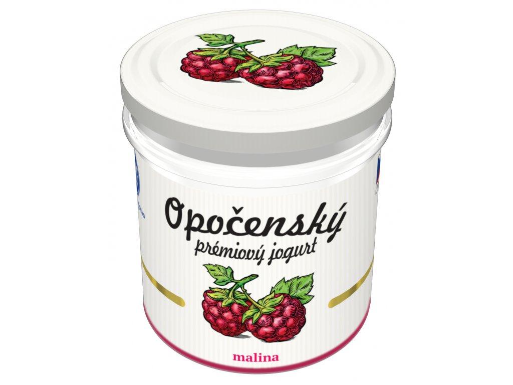03 Opočenský prémiový jogurt malina