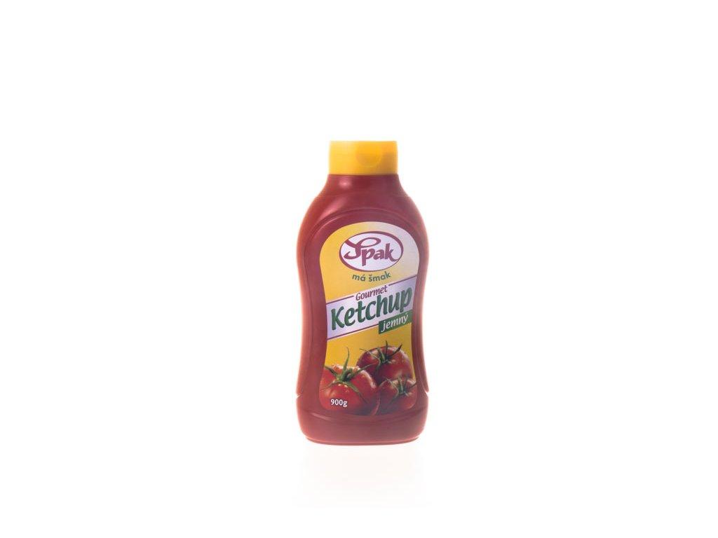 Ketchup Jemný Plast 900G Spak