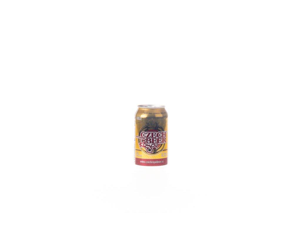 Pivo Royal Czech Beer 330Ml 5% Plech