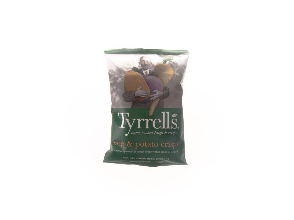 Tyrrells Chipsy Zeleninové Veg Crisps 100G Pastyňák, Patata