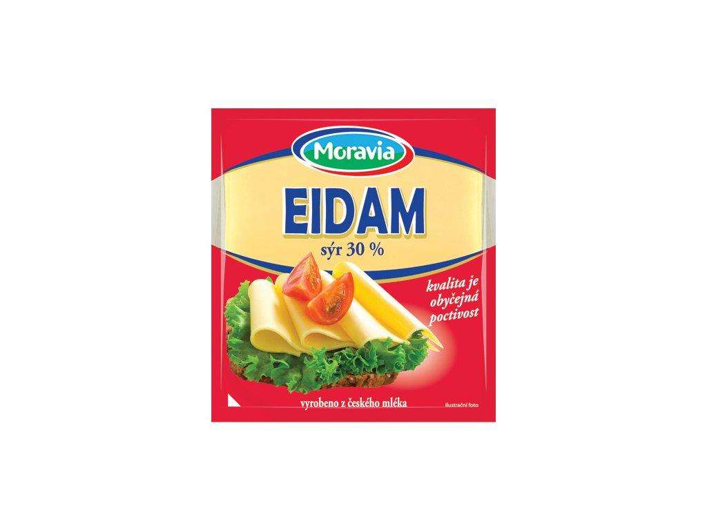 E25 Moravia Eidam platky 30% 100 g