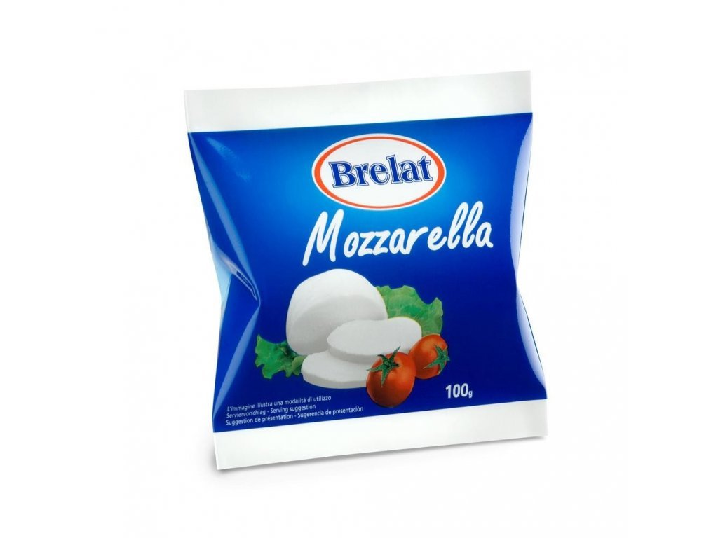 Mozzarella 100G Or. Brelat