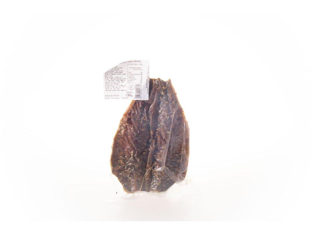 Makrela Filet V Pepři Uzená Mražená Cca 200G