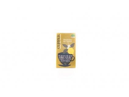 Cupper Bylinný Čaj Citronový Se Zázvorem 50G (20Sáčků) Bio