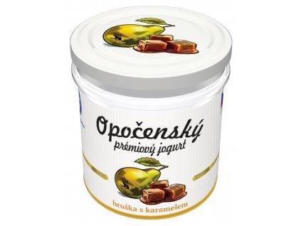 02 Opočenský prémiový jogurt hruška karamel