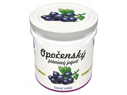 01 Opočenský prémiový jogurt černý rybíz