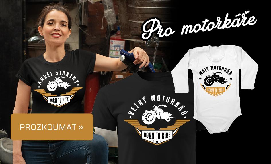 Motorkář set