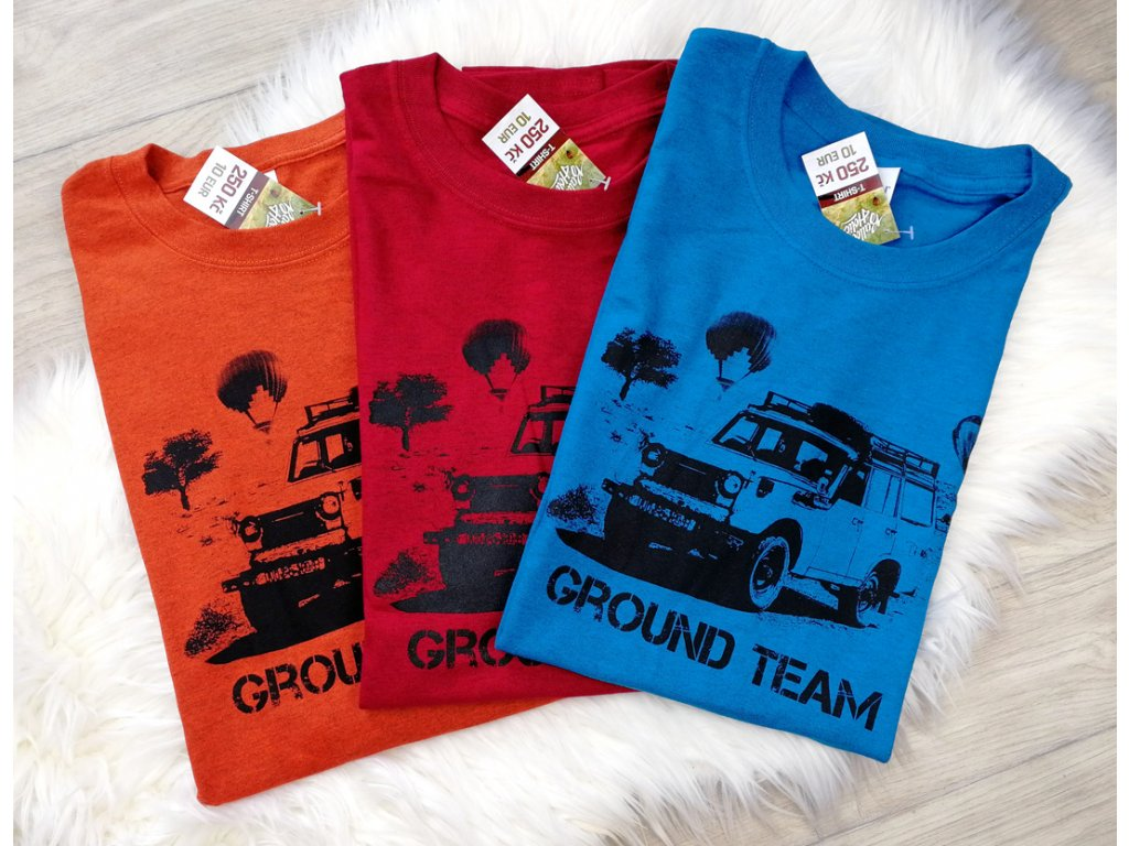 Ground team - Žíhané různé barvy