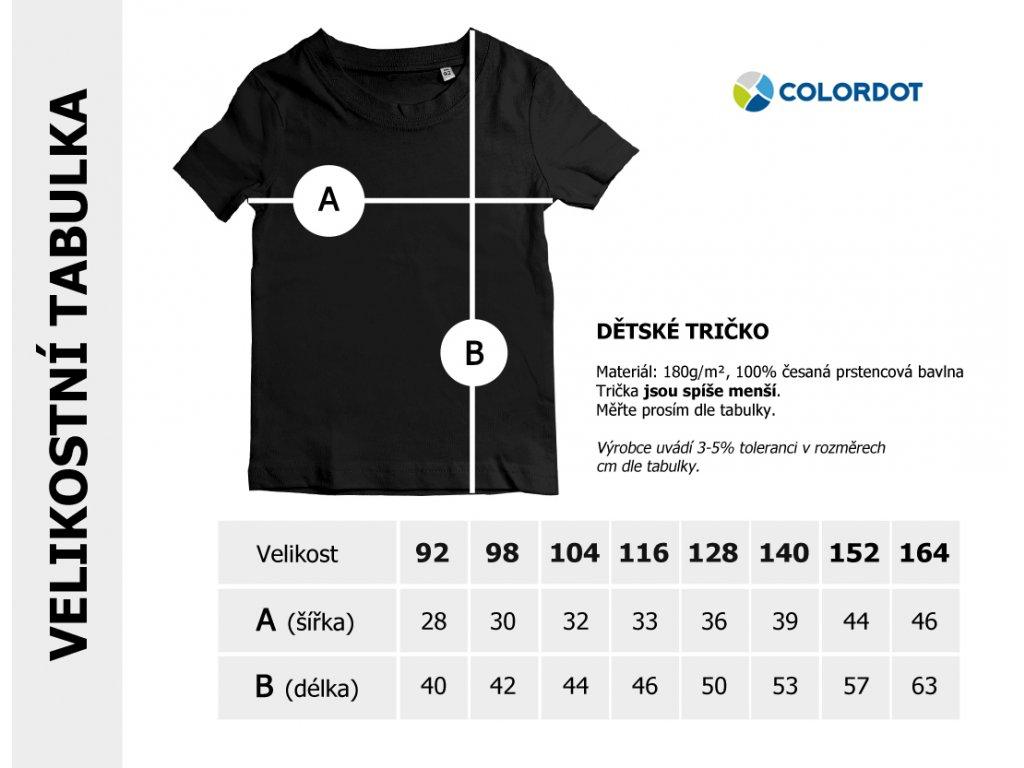 maly rybar detske triko bile