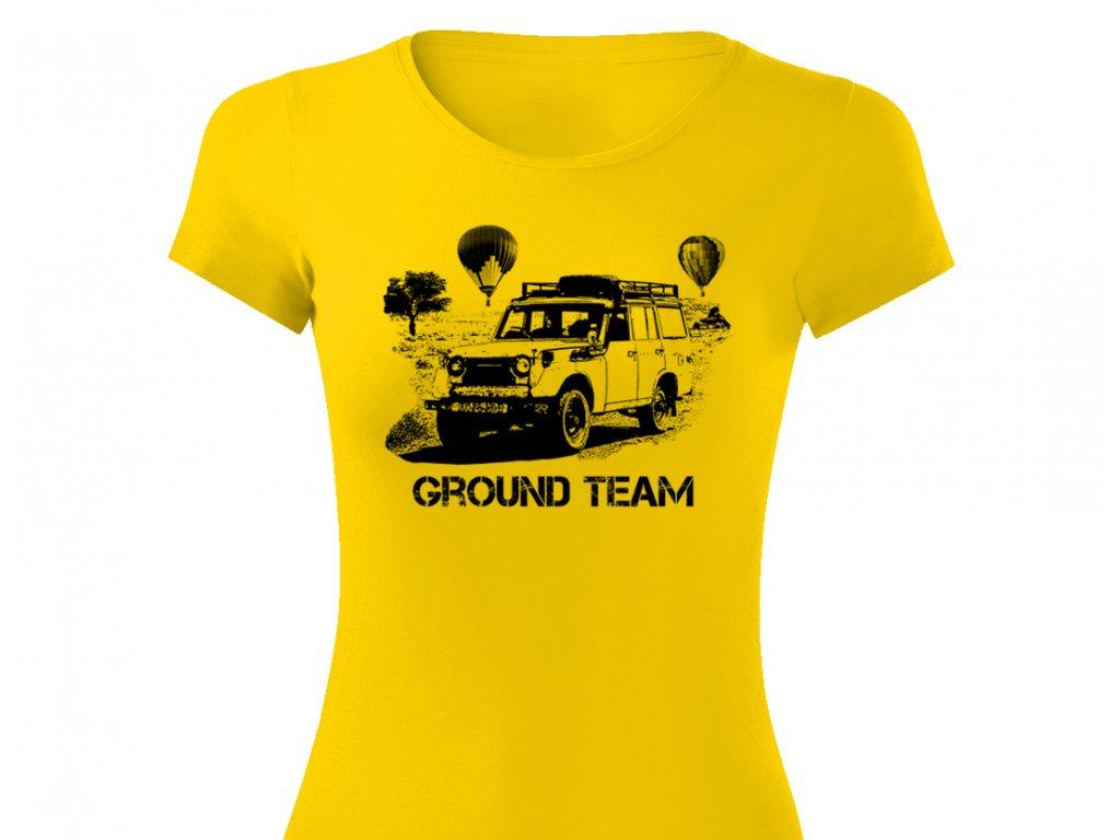 ground team zluta viper damske