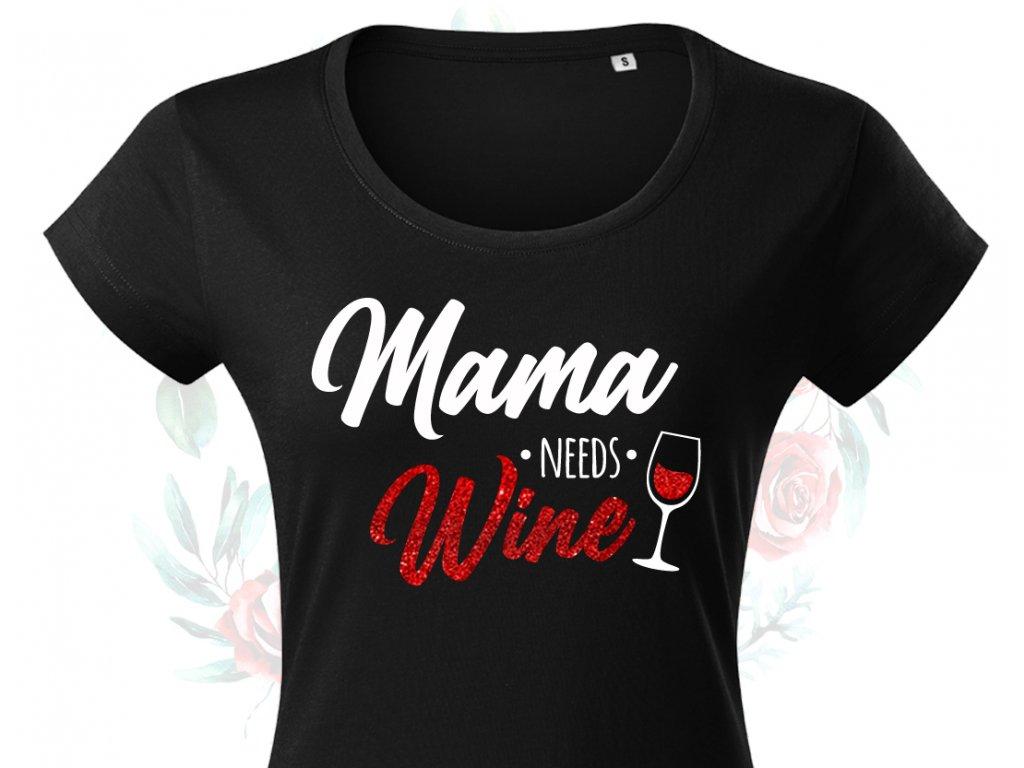 mama needs wine colordot