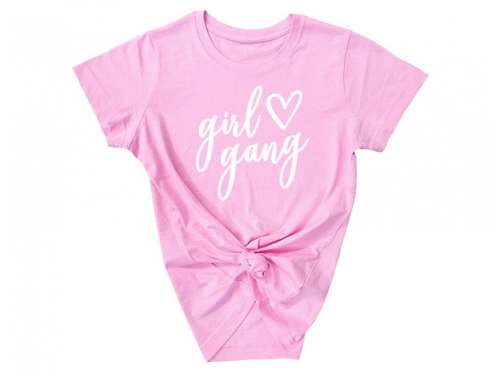 Girl gang - Světle růžová (BASIC)