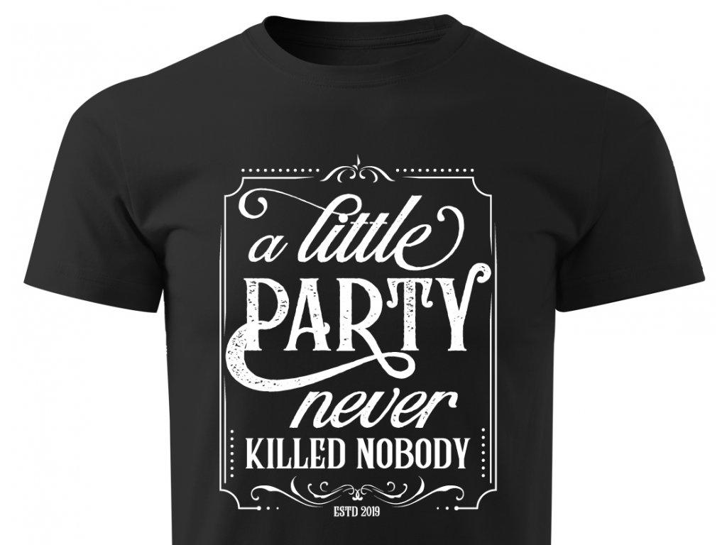 little party colordot tricko na rozlucku tym zenicha