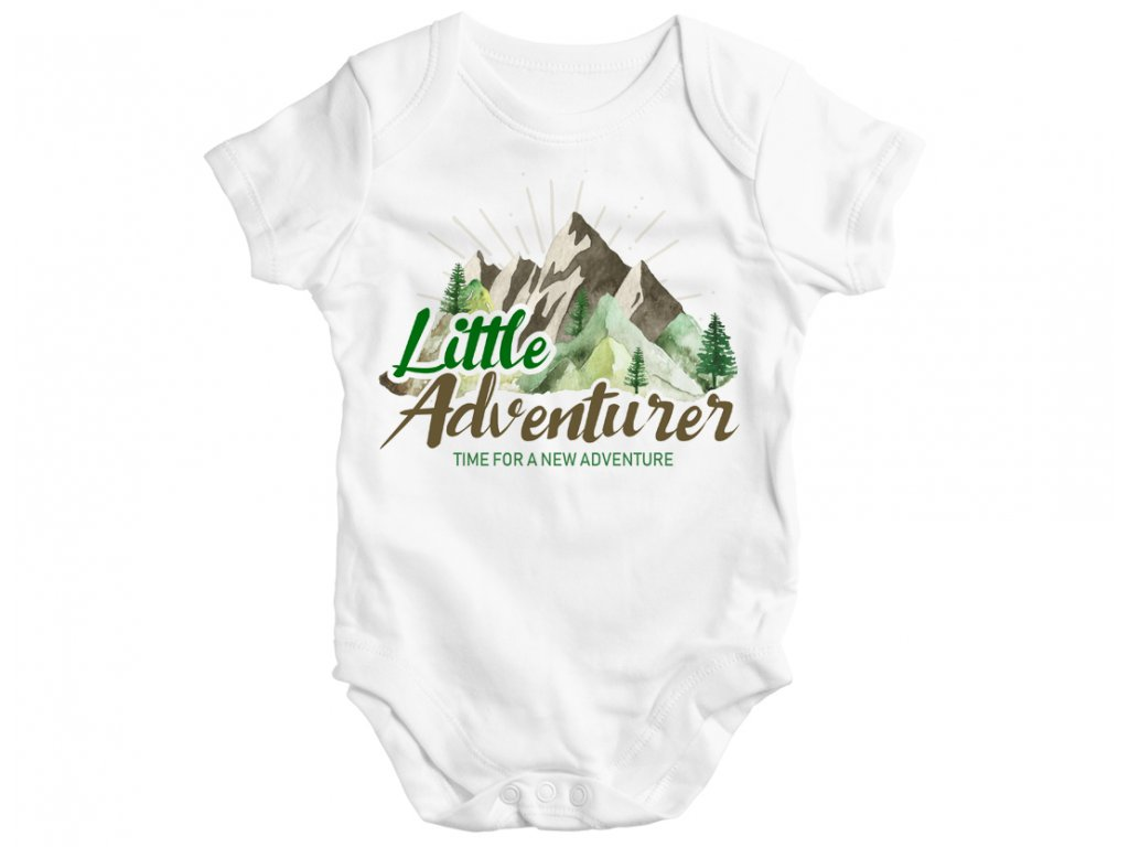 adventurer little detske body rodinny set colordot