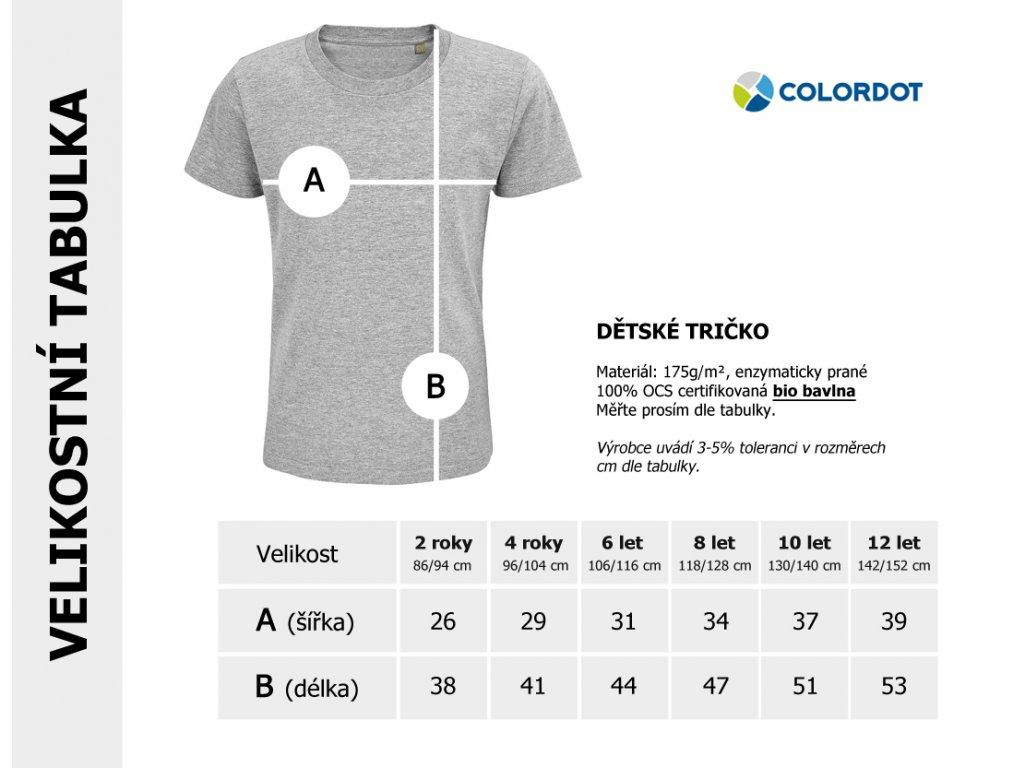 BAGR tričko - 3.narozeniny