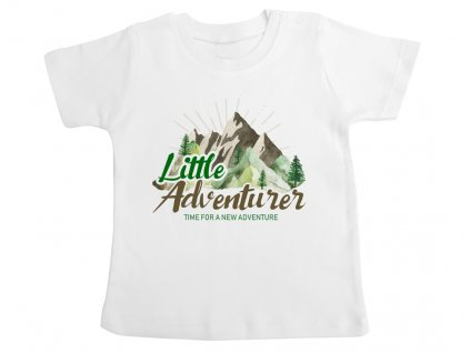 adventurer little detske tricko rodinny set colordot