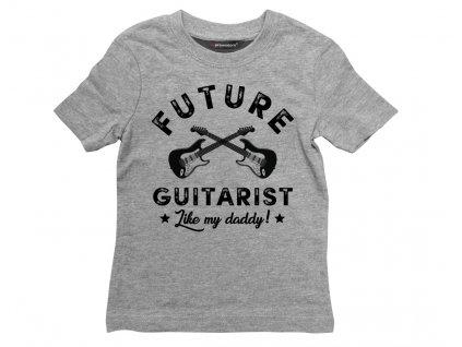 guitar detske sede triko colordot