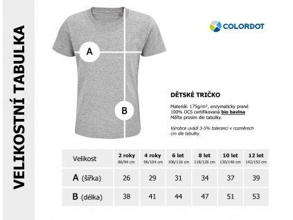 MR FIX IT DETSKE TRIKO COLODOT