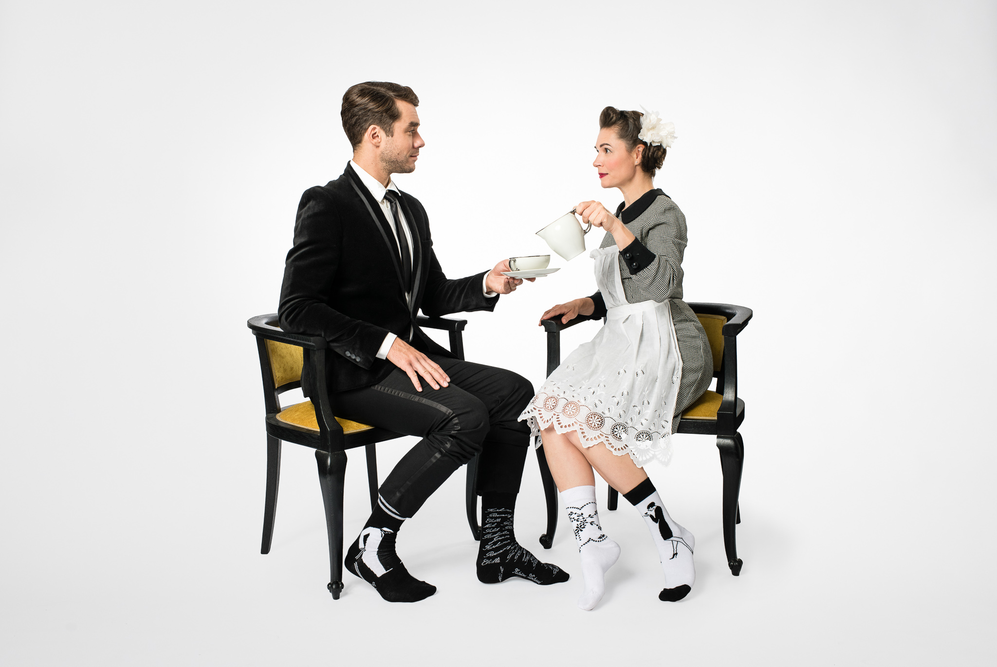 Nová kolekce Aloisových ponožek od Kateřiny, která pomáhá lidem s Alzheimerovou nemocí