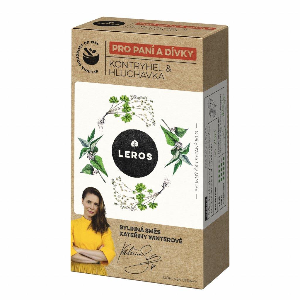 121046 leros herbar pro pani a divky kontryhel a hluchavka