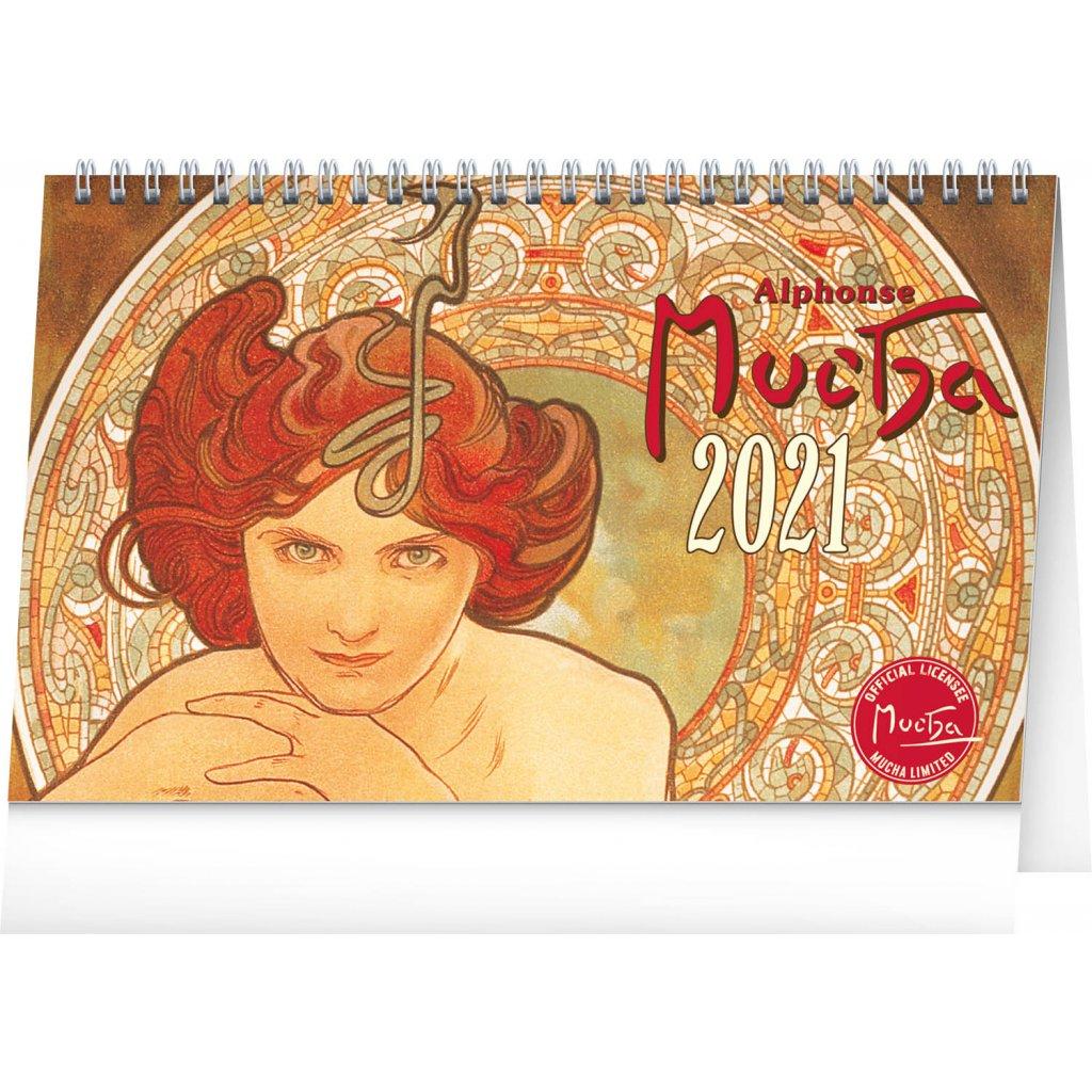 stolni kalendar alfons mucha 2021 23 1 x 14 5 cm 529051 15