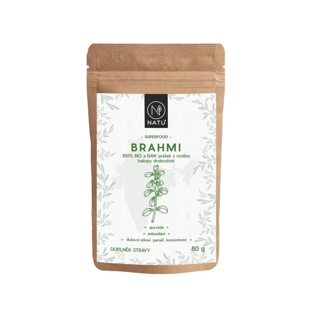 Brahmi BIO, RAW 80g