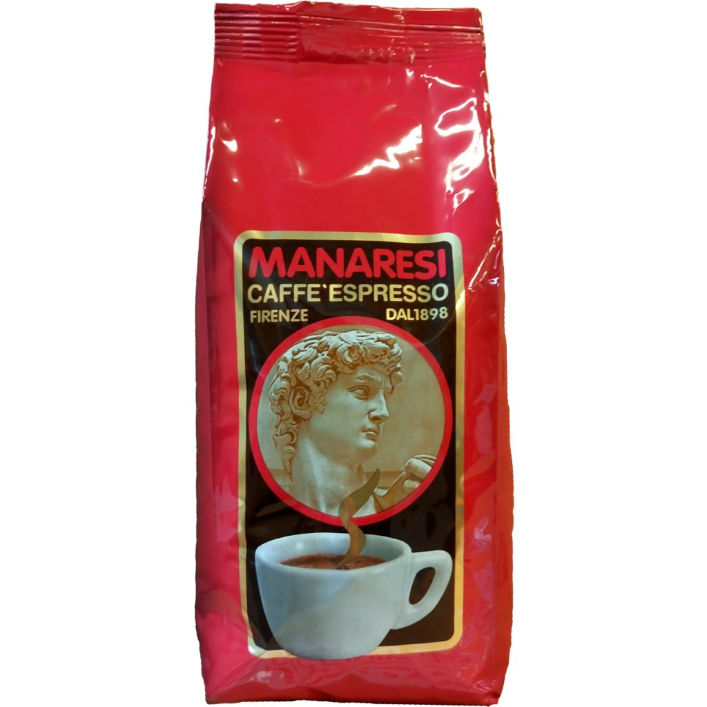 Manaresi Classic Italian Red 1kg coffee beans