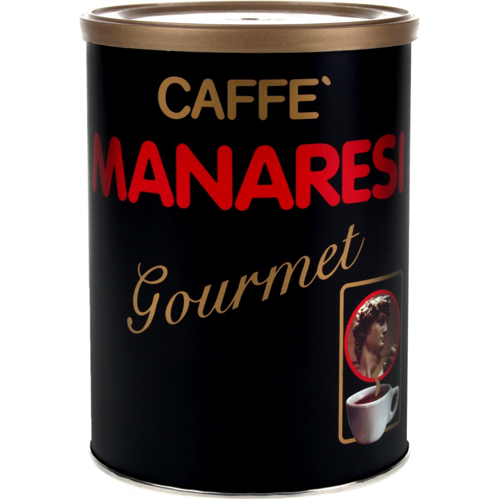 Manaresi Gourmet in Tin ground coffee