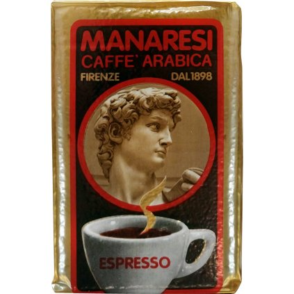 Manaresi Italian Espresso Espresso 250g vacuum packed ground coffee