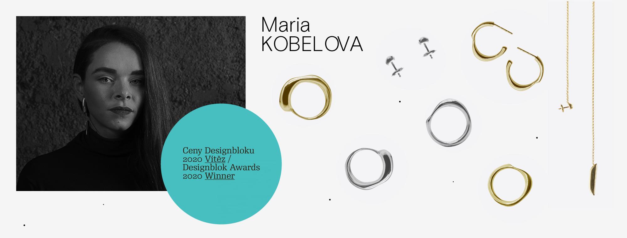 Mária Kobelová - ceny Designbloku