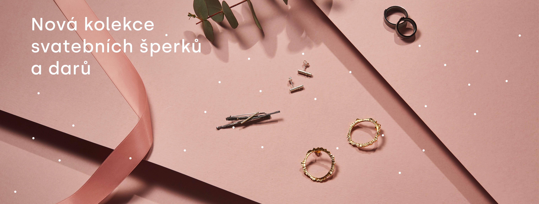 Nová kolekce svatebních šperků a darů