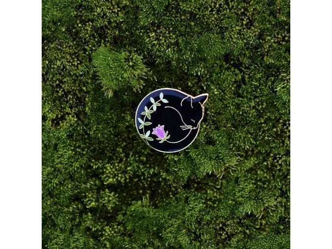 Odznacek kočka 2