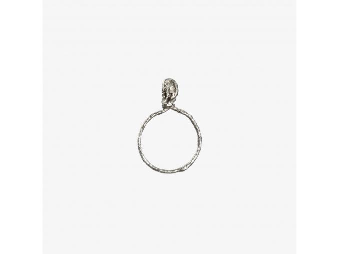 Tordovaný prsten III (Ag 925/1000)