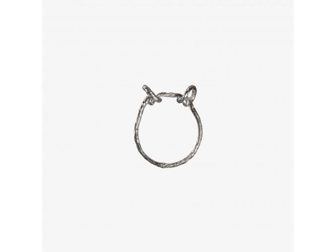 Tordovaný prsten I (Ag 925/1000)