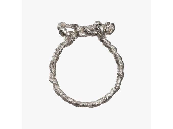 Tordovaný prsten II (Ag 925/1000)