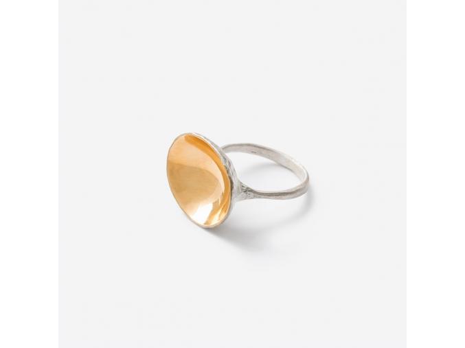 Prsten zlaté zrcadlo *010