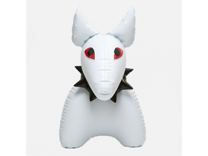 Pes Bulík - bílý
