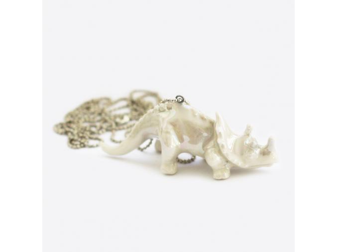 Minka nahrdelnik triceratop 01