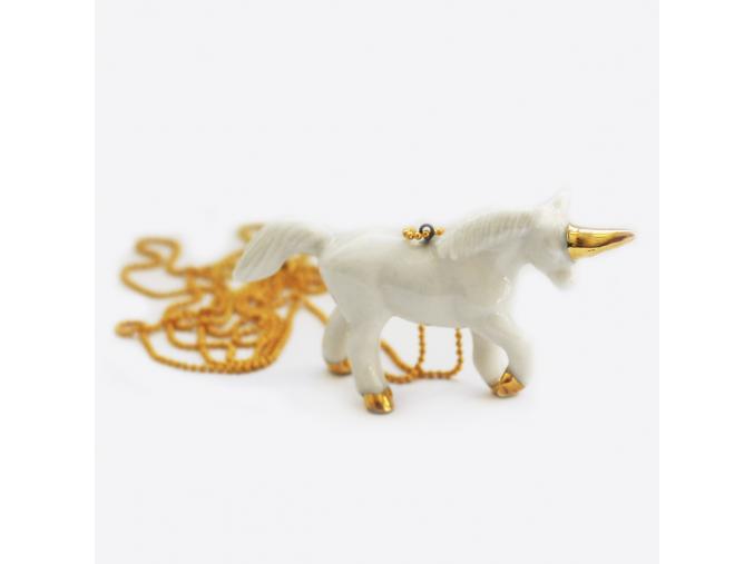 Minka nahrdelnik jednorozec zlaty 1 01