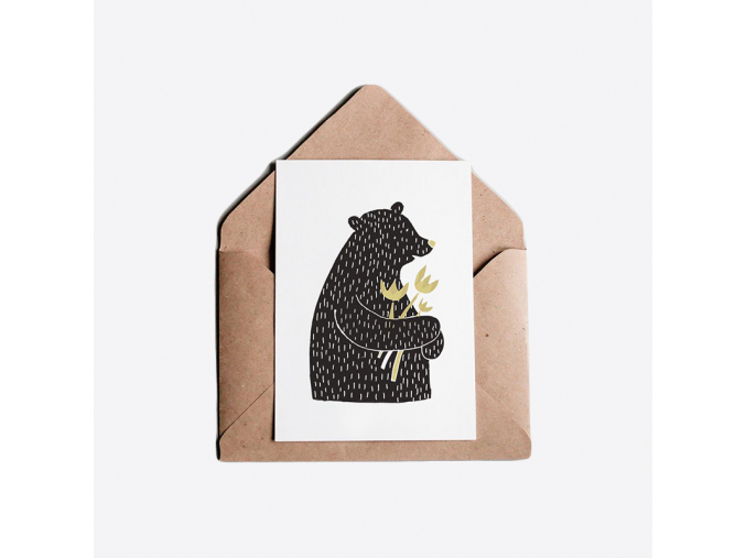 Medvědí přání univerzálně květinové
