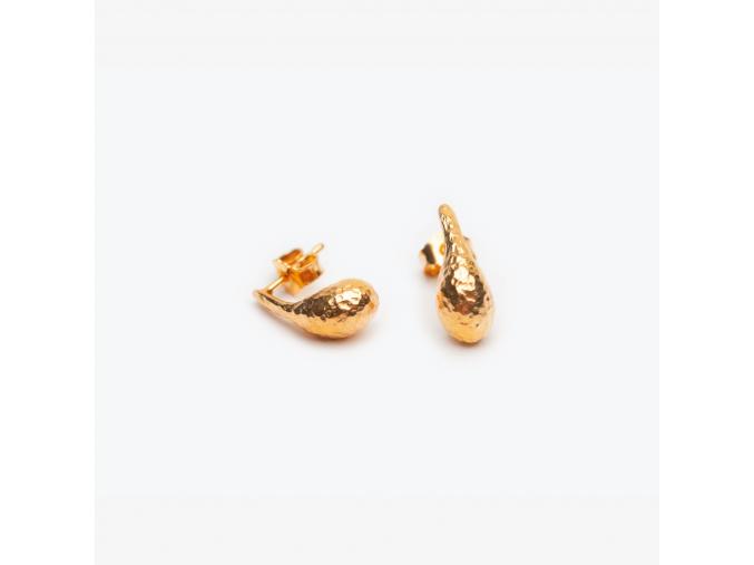 Náušnice lodičky *003 pozlacené (Ag 925/1000)