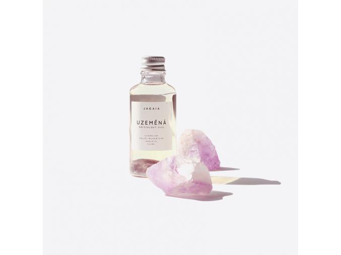 Uzeměná - krystalový olej