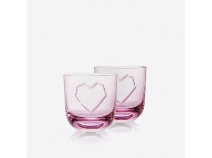 7319 sklenicky love pink sada 2 ks upravene